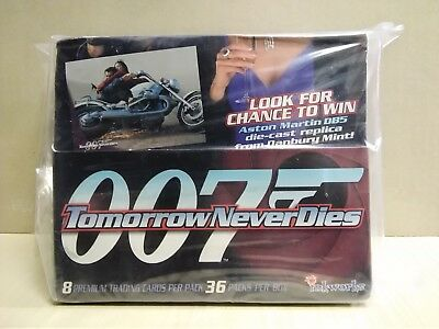 inkworks James Bond 007 Tomorrow Never Dies Trading Cards Box
