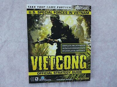 Vietcong Brady Games Official PC Game Strategy Guide