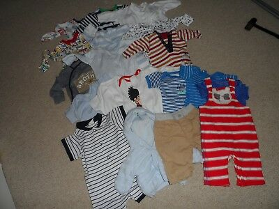 Baby Boys Clothes - Newborn