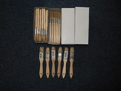 12 X  1INCH   Paint Brush Set Professional Decorating  DIY Brushes