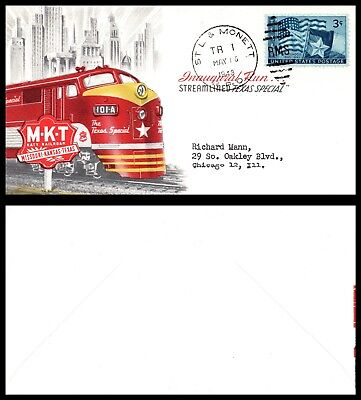 Goldpath: US Advertising Cover 1948. St. L & Monett Tr 1. With Card. _CV17_P3