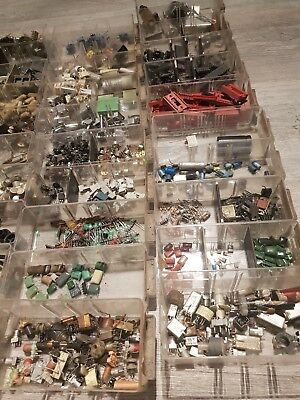 vintage electric components for guitar and amplifiers