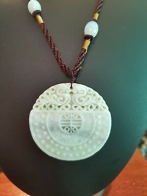 Chinese Stone Carving Pendant
