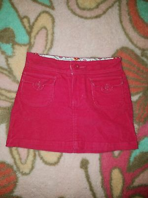be9a7cf45 Gap Stretch Gap Kids Lemonade Pink Corduroy Skirt Bottom Girls Size 5