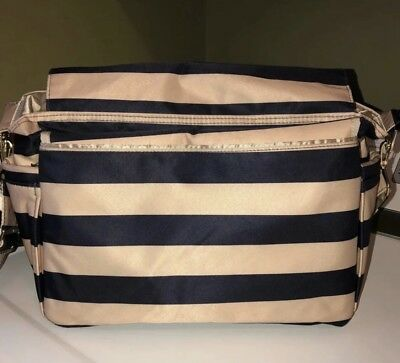Ju-Ju-Be Better Be Messenger Diaper Bag Tote Jujube.No Changing Pad, Used See