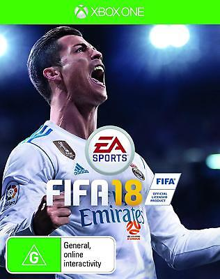 Brand New FIFA 18 Disc - Xbox One or PS4