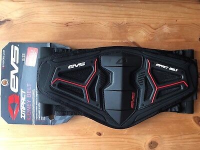 New Evs Impact Kidney & Lower Back Belt Support Protection Adult Small 28-30""