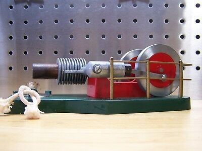 VINTAGE Model Steam Engine Flame Stirling Cycle Phoenix AZ Solar Engines