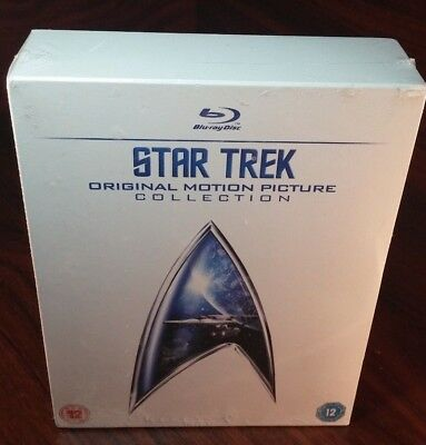 Star Trek:Original Motion Picture Collection Blu-ray(Region Free)NEW-Free S&H