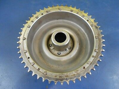 Rear Mechanical Brake Drum W/ Lugs Harley Davidson Knucklehead Panhead 1937-1957