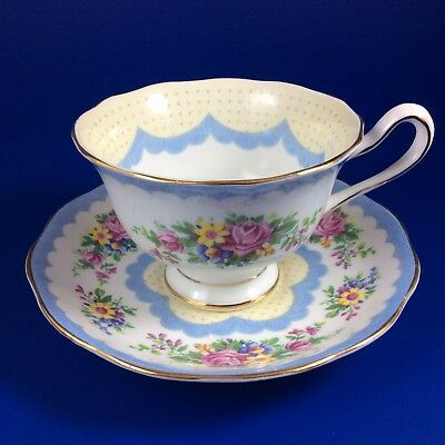 Royal Albert Crown China Prudence Tea Cup And Saucer - 6 Sets Available