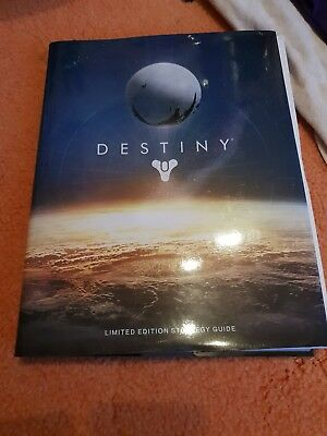 Destiny Limited Edition Strategy Guide With Lithographs