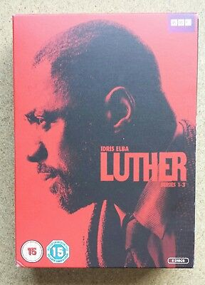 Luther series 1 - 3 DVD Box Set.