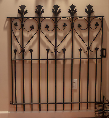 Wrought Iron: Garden Gate Local Pickup