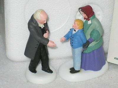 Good Day, Reverend Department 56 New England Village Set Of 2 2003 56.56697
