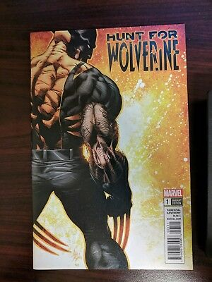 Hunt For Wolverine #1 1:50 Variant Mike Deodato cover
