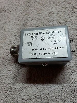 Hp 11049A Thermal Converter