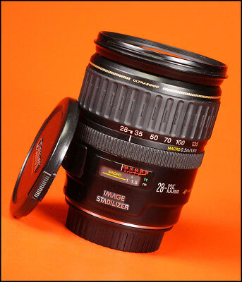 Canon EF 28-135mm F3.5-5.6 IS USM Zoom Lens Sold with Front & Rear Caps