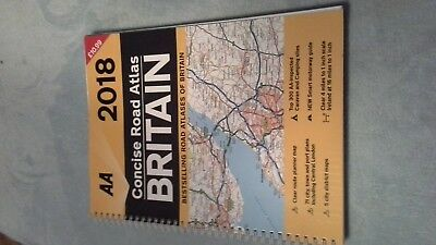 AA 2018 Concise Road Atlas of Britain