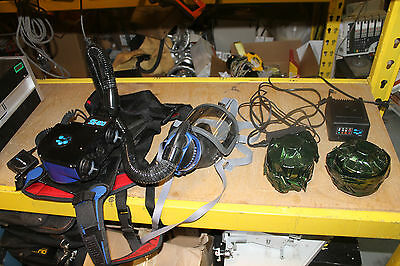 Unused Sea Se400 On Demand Face Mask Breathing Apparatus With Filters