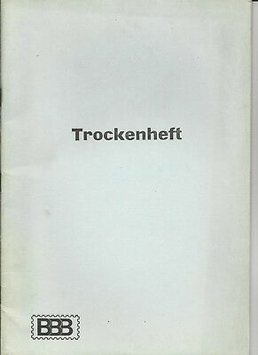 Briefmarken 2 x Trockenheft