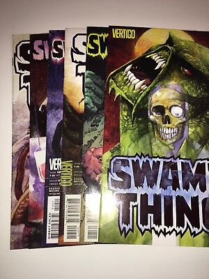 Swamp Thing Vertigo Comics Lot 2004-05
