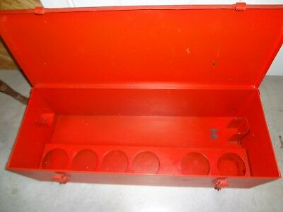 Ridgid 700 Metal Case 42950 Great Condition Fast Free Shipping
