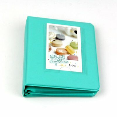 Candy Color Fuji Instax Mini Book Album for Instax Mini 3-inch Photos 64 Pockets