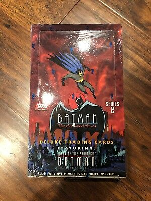 Batman The Animated Series Series 2 1993 Factory Sealed Box Trading Cards Topps