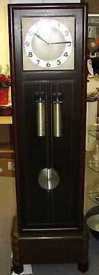 Antique Art Deco Gustav Becker Grandfather Clock