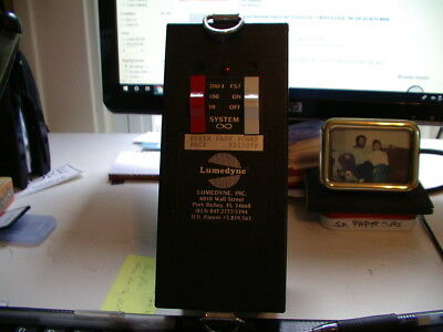 Lumedyne #065X Fast Power Pack with Mini Battery C1 #024C  - Excellent Condition