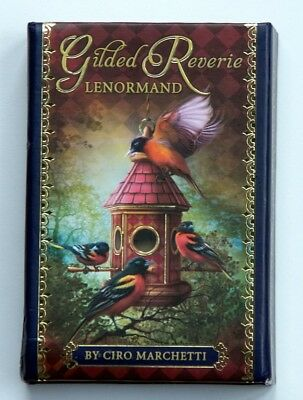 1st US Games Release of Gilded Reverie Lenormand Oracle / Tarot - Ciro Marchetti