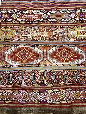 tapis kilim ancien XIXeme                 Antic Kilim Carpet