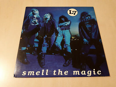 "L7 - Smell The Magic ( Coloured Vinyl 10"" Single Ep ) Ultra Rar! Grunge, Sub Pop"