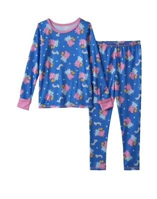 Girls 2T/3T Peppa Pig Base layer underclothes Cuddl Duds Winter layers NEW $26