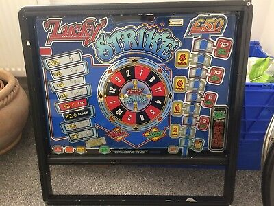 Barcrest Fruit Machine Top Glass