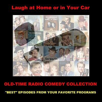 "Old-Time Radio Comedy Collection. ""Best"" Episodes From Favorite Programs!"