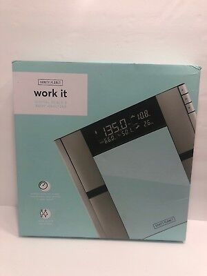 Vanity Planet Work It Digital Scale & Body Analyzer
