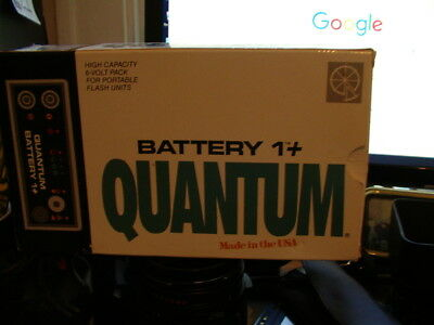 Quantum Battery 1+ in Box With IB and Charger  - Excellent Condition