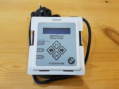BMW Motorrad Motorcycle Battery Charger Optimiser trickle charger