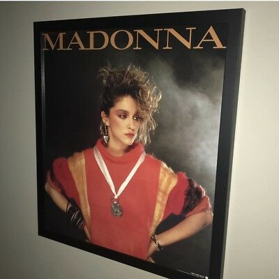 Madonna Japanese Official promo only poster 1984 Brian Aris