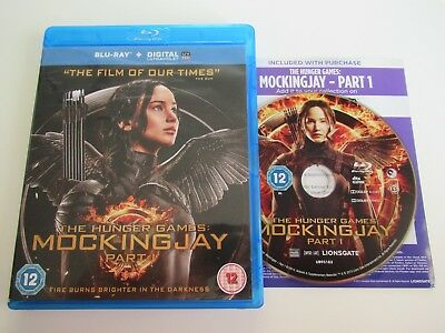 The Hunger Games - Mockingjay Part 1 ( Blu-ray, 2014 ) FREE POSTAGE !!!