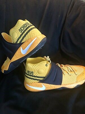 f24fbe6a8bff NEW Nike Kyrie 2 Grade School Shoes 826673-700 Back to School Bus Youth Size