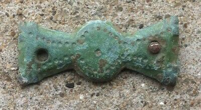 ANCIENT Celtic Druid Bronze AMULET / TALISMAN > Propeller Form