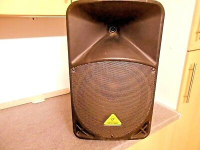 "Behringer Eurolive B112MP3 12"" Active Powered MP3 Speaker Cabinet 1000 Watt"
