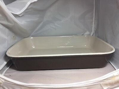 Le Creuset Vintage Roasting Pan With Handles Rectangle France 15 X 10