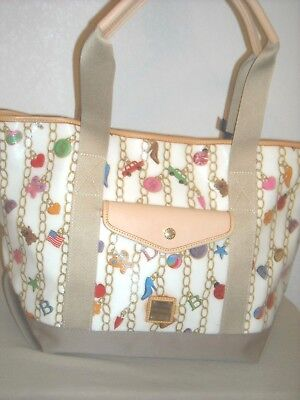 NWT Dooney & Bourke Go 2 Tote Bag - Choose from ~CHARMS~ or ~PINK HEARTS~