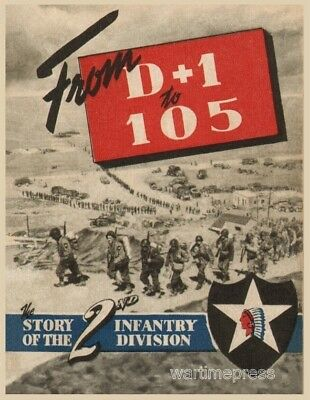 Lot of 5 Postcards - Cover 2nd Infantry Division - Stars & Stripes Stories