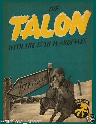 5 New Postcards - The Talon -  With the 17th in Ardennes - WWII Airborne
