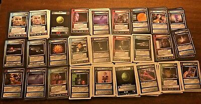 1994 Star Trek Cards TNG CCG HUGE card lot 1280+ Cards Exc Cond Next Generation
